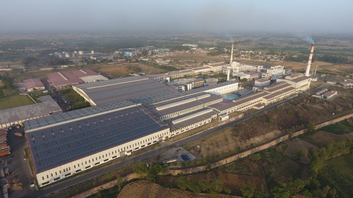 Gold Plus Glass Industry?s two float lines in Roorkee, Uttarakhand with installed capacity of approx. 460,000 metric tonnes annually