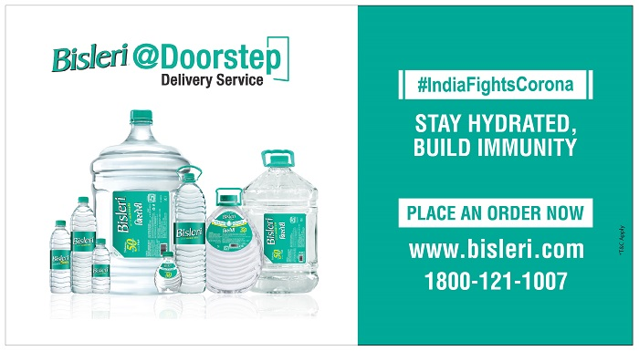 Bisleri introduces direct home delivery service