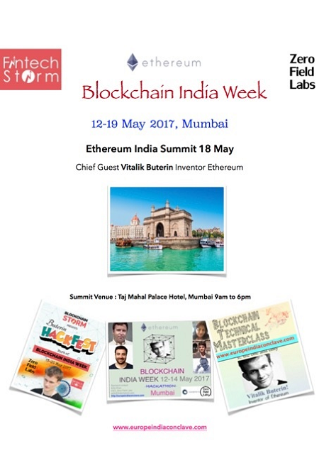 <b>Blockchain India Week</b>&#8220;></td> </tr> <tr> <td width=