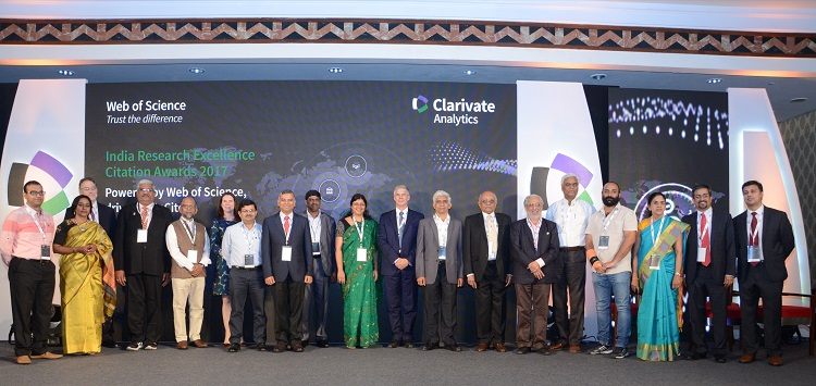 Clarivate Analytics India Reseach Excellence - Citation Awards 2017