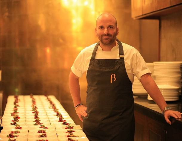 Aussie Chef George Calombaris at this year's American Express CEO Series 2017