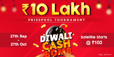 Diwali Cash Bomb at Adda52 Rummy worth Rs 10 Lakhs prize pool
