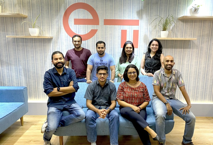 Esha Tiwary, General Manager, Entrepreneur First, India, with her team in India