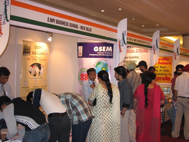 Education Worldwide India Fair - Previous edition