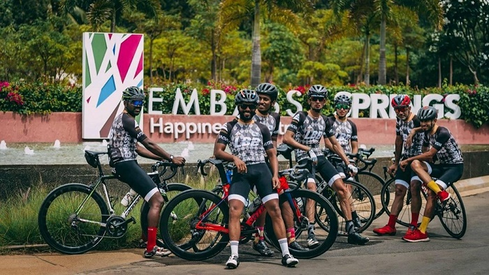 Embassy Pedal for the Planet aims at promoting cycling to work for a greener planet