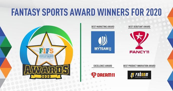 Federation of Indian Fantasy Sports - GamePlan 2020 - Fantasy Sports Award Winners