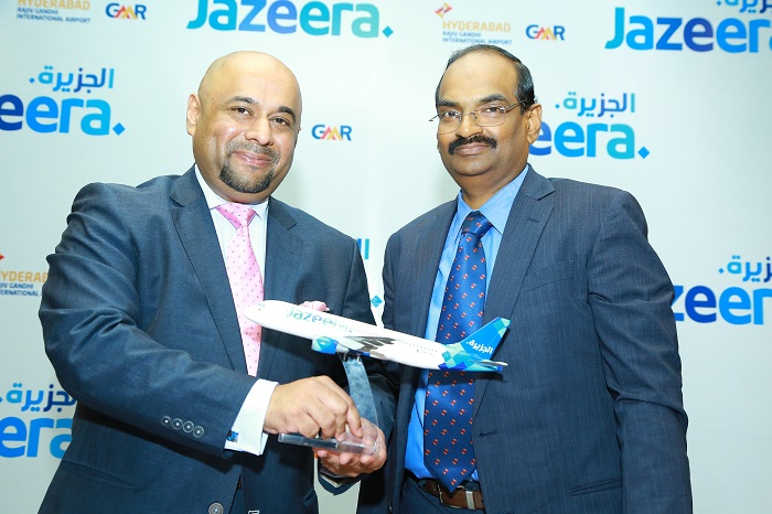Rohit Ramachandran - Jazeera Airways CEO; Mr. SGK Kishore CEO, GHIAL