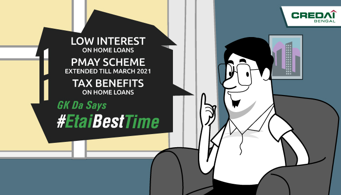 One home many benefits. Make the best of it now! #EtaiBestTime #GKDa