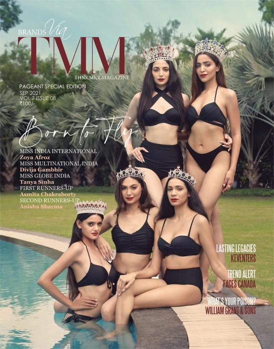 Zoya Afroz, Divija Gambhir, Tanya Sinha, Asmita Chakraborty and Anisha Sharma