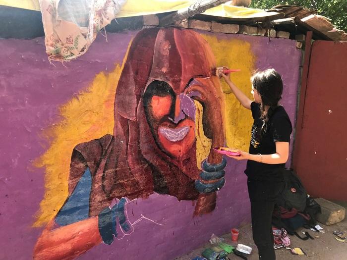 Graffiti in making