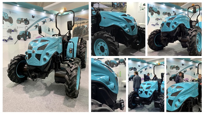 HAV (Hybrid Agri Vehicle) - First Public showcase to the world at Agritechnica 2019, Hannover, Germany