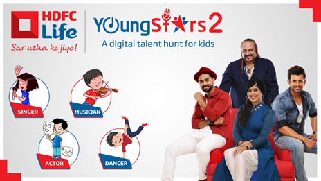 Judges of HDFC Life YoungStars Season 2: Left - Salman Yusuff Khan; Right -Jay Bhanushali; Centre Top - Leslie Lewis; Centre Bottom - Harshdeep Kaur