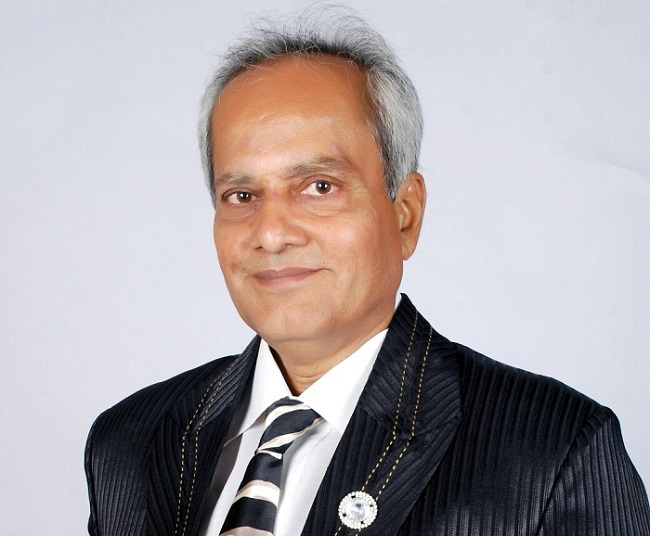 Mr. Harakhchand Savla, Founder & Managing Trustee of Jeevan Jyot Cancer Relief & Care Trust