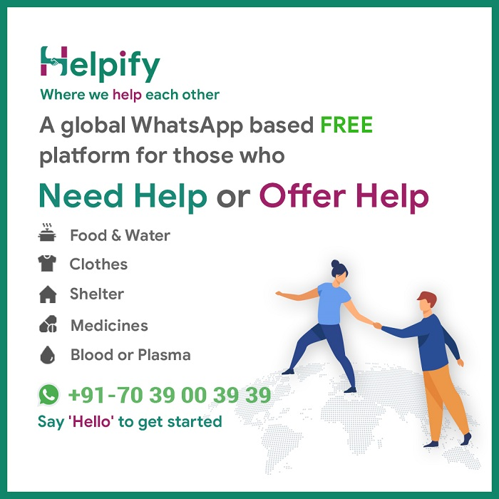 Helpify - Where we help each other