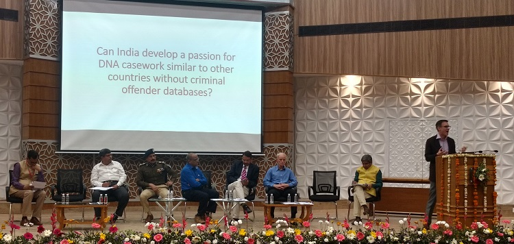 Panellists at the debate themed 'Building DNA casework in India to strengthen investigation in sexual assault & rape cases'