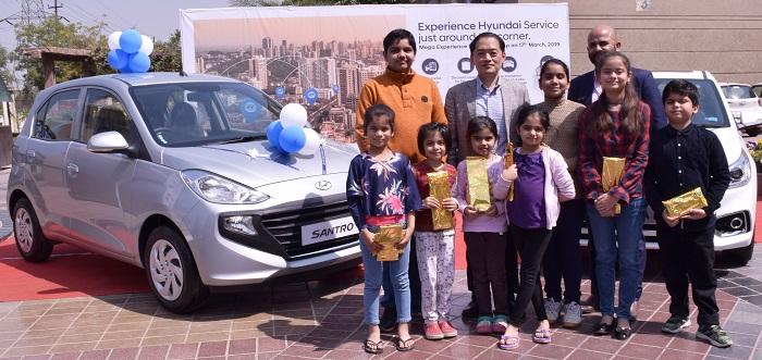 Mr. S S Kim, MD & CEO, Hyundai Motor India Ltd. at the inauguration of Mega 'Experience Hyundai Camp'