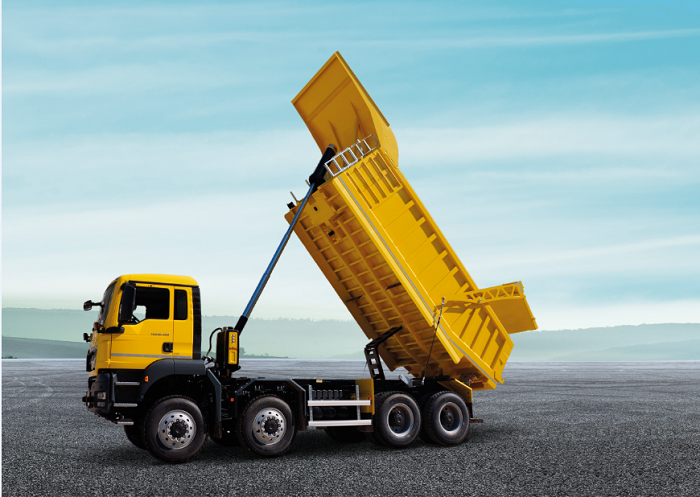 Hyva front end tipping solution