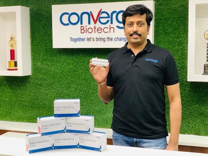 Arun Kumar Bijjala - Managing Director (Converge Biotech) with Vergiflu