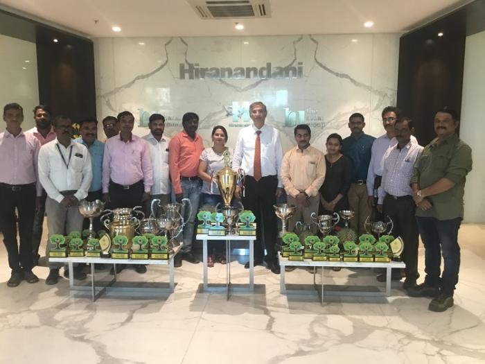 Team Hiranandani bags top horticulture award