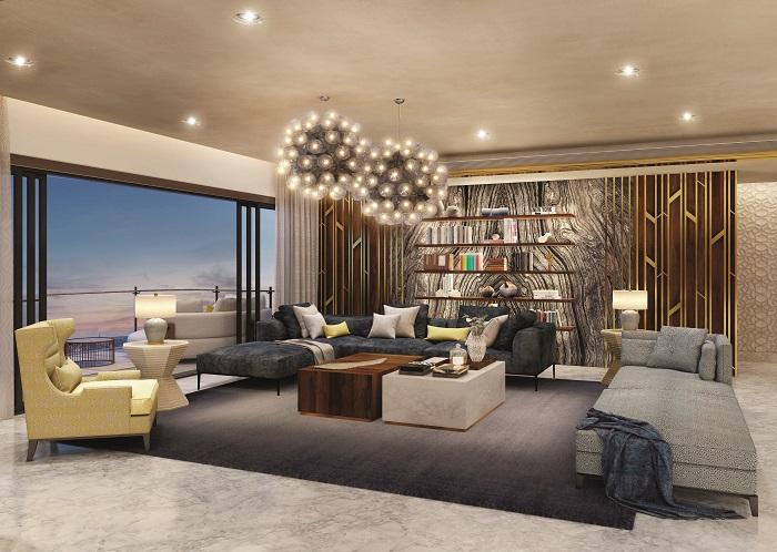 MAIA Estates' Show Apartment @Pelican Grove - Living Room