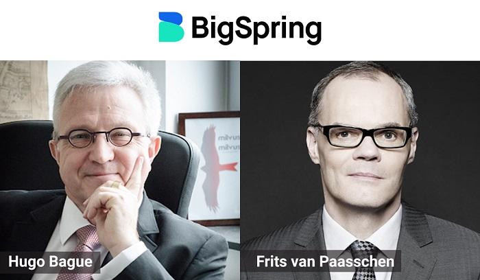Hugo Bague and Frits van Paasschen, Advisors, BigSpring