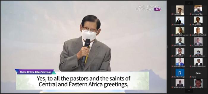 Chairman Lee spoke to African Pastors