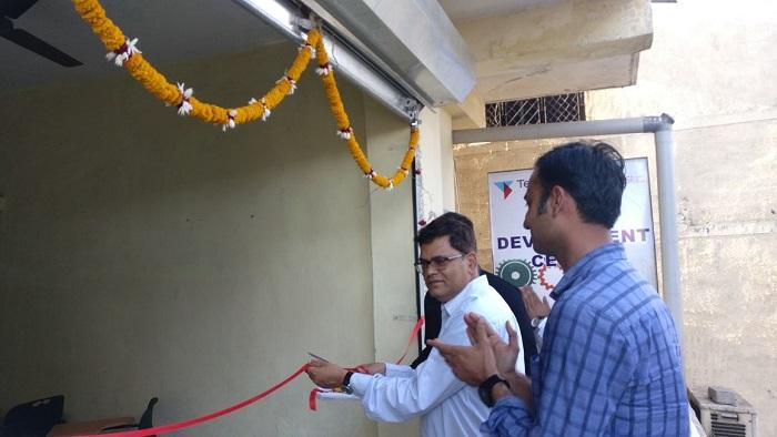 Inauguration of Skill Development Centre by R K Gupta, Head - Modular Manufacturing Yard, Technip India