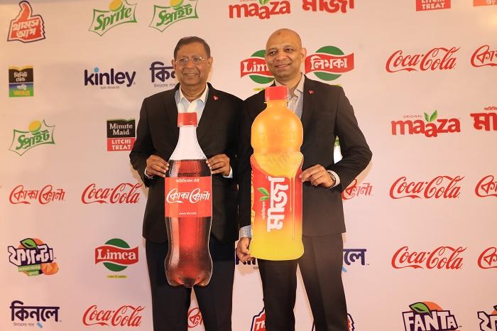 (L - R ) T. Krishnakumar, President, Coca-Cola India and South West Asia and Ishteyaque Amjad, VP, PACS, Coca-Cola India and South West Asia
