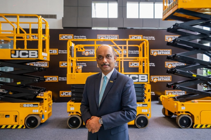 Mr. Deepak Shetty, Chief Executive Officer and Managing Director at JCB India Ltd.