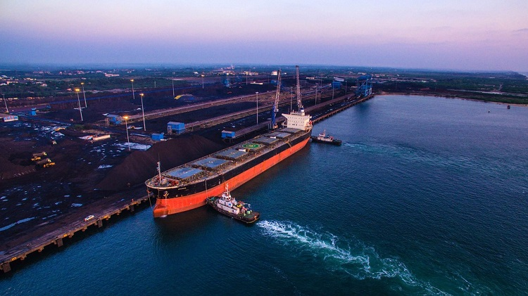 AG&P has exclusivity to develop a major LNG import terminal at Karaikal Port, Puducherry, India (image - Karaikal Port courtesy KPPL)