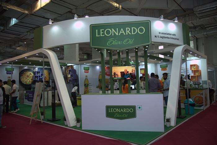 Leonardo Olive Oil's stall at IITF 2017