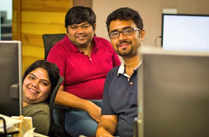<b>Mech Mocha founders: (From left) Arpita Kapoor, Shilp Gupta, Mohit Rangaraju</b>