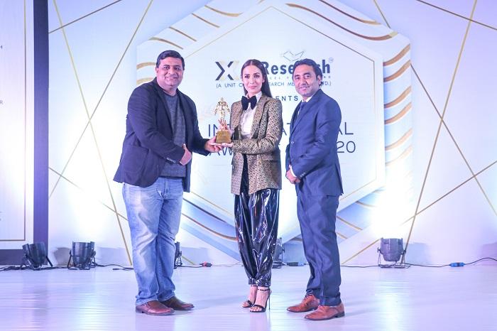 Xel Research organised International Awards 2019-20 at New Delhi