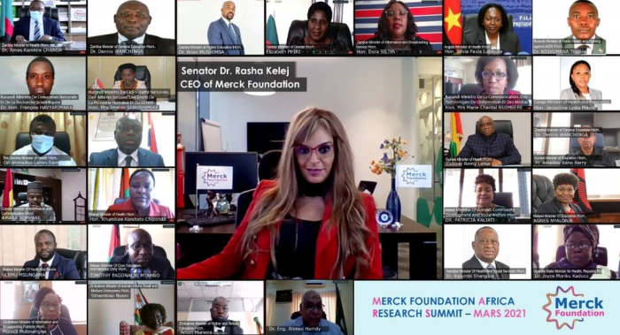 Merck Foundation Africa Research Summit -MARS Online VC
