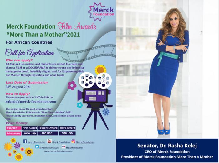 Call for Application for Merck Foundation FILM Awards