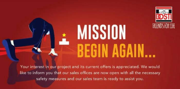 Mission Begin Again Campaign Offer by Dosti Realty