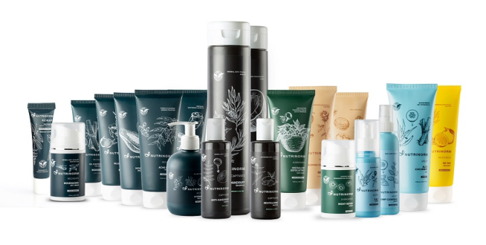 Skin care and beauty range from Nutrinorm Wellness