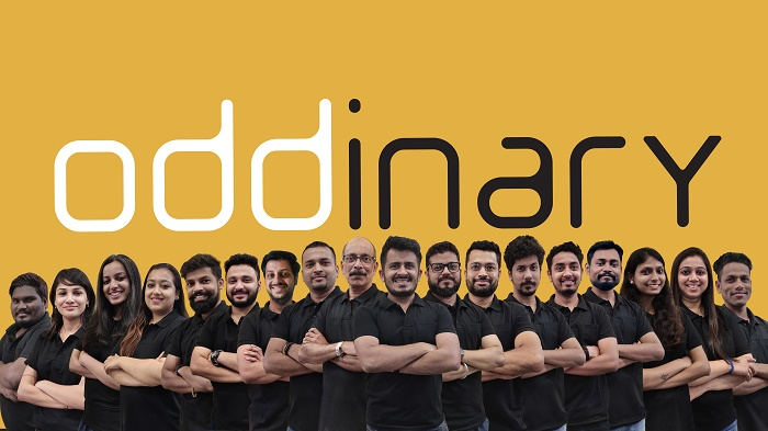 Oddinary Team Photo - Winner of Indias Best Design Studio