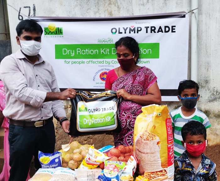 Olymp Trade Helps Fight COVID-19