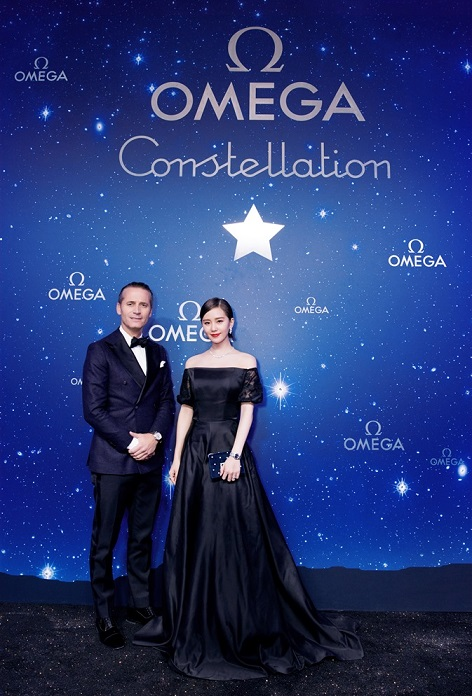 Raynald Aeschlimann President & CEO of OMEGA & the actress Liu Shishi