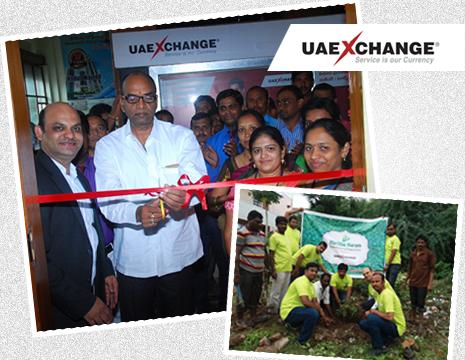 UAE Exchange Nizamabad CSR activity
