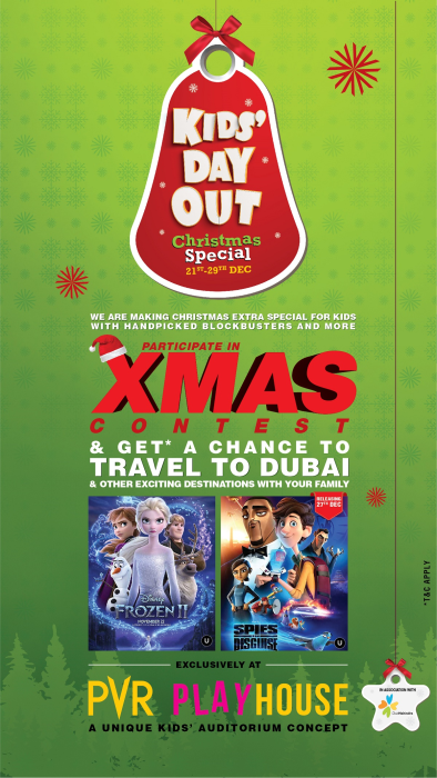 PVR makes Christmas special for kids with handpicked movies at PVR Playhouse