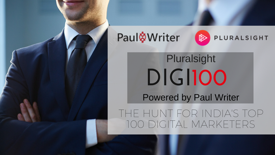 Paul Writer announces Digi100 powered by Pluralsight