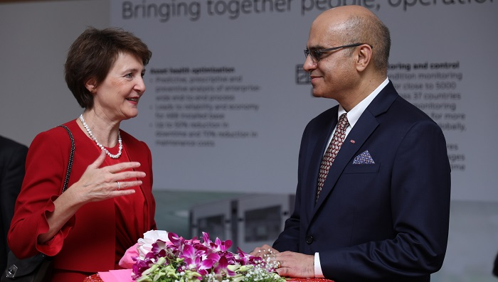 Federal Councilor of Switzerland at ABB Ability Innovation Center in Bengaluru