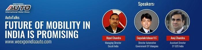 WEEXPOINDIA Auto Talks - Expert's Take on Future Mobility in India