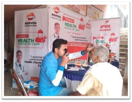 GP Petroleums ?We Care? CSR Initiative organizing health check-up camps