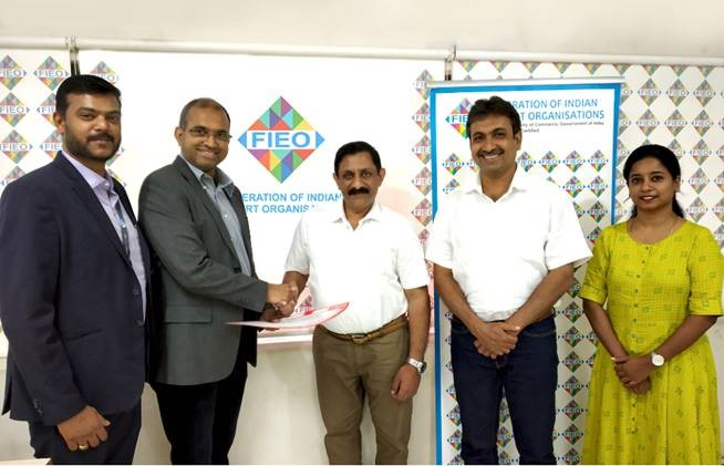 MoU Signed between FIEO and Business Gateways to enter into a Partnership to promote Indo Oman Business Opportunities.