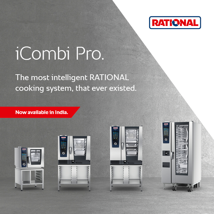 RATIONAL iCombi Pro – Intelligent Combi-Steamer, now available in India.