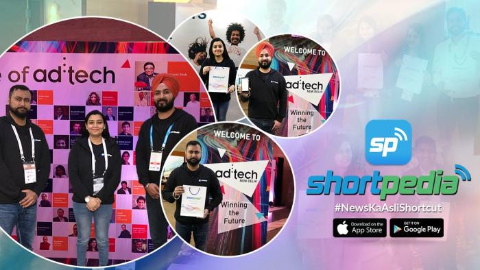 Launch of Short News App 'Shortpedia' in Ad-tech New Delhi