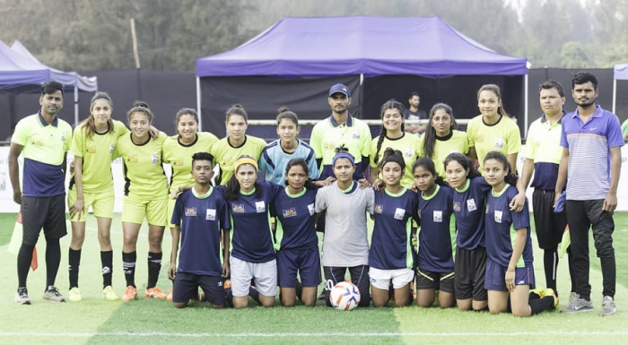 Youth from Assam and Uttarakhand at the SPN National Inclusion Cup 2020